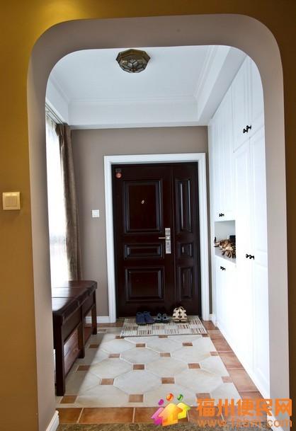 2014最全入户玄关地面瓷砖铺设图欣赏02给人入户的
